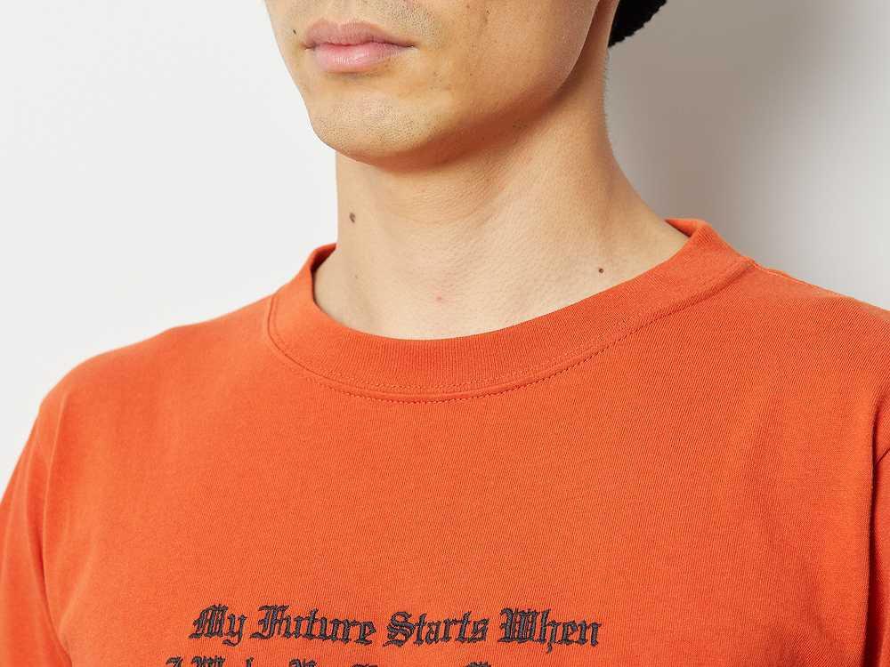 タイポグラフィカル Tシャツ XXL ブラック