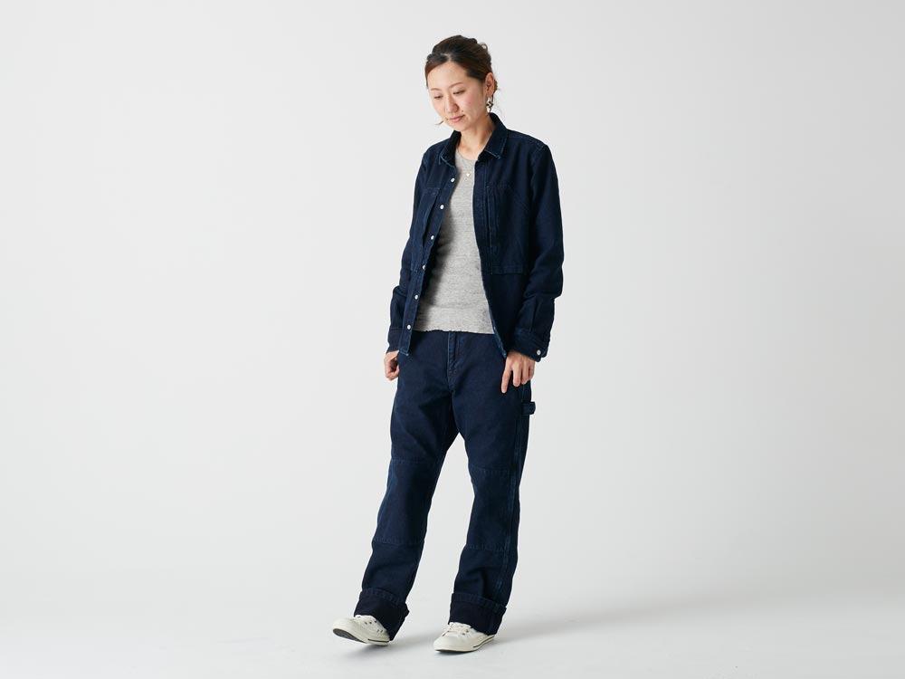 Okayama OX Pants L Indigo2