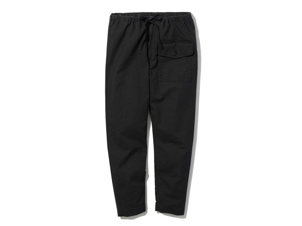 Safari Linen Pants M Black0