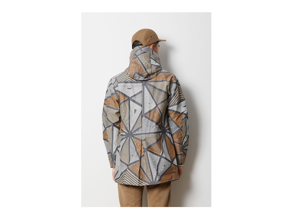 Printed eVent C/N Rain Jacket XL Khaki