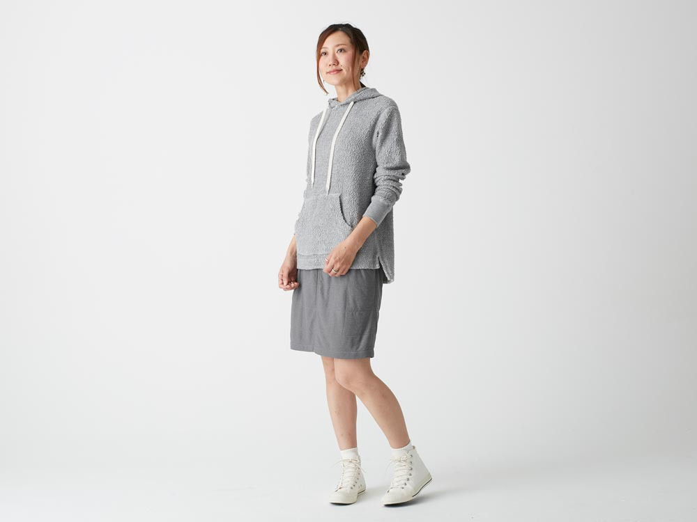 FlexibleInsulated Skirt 4 Grey1