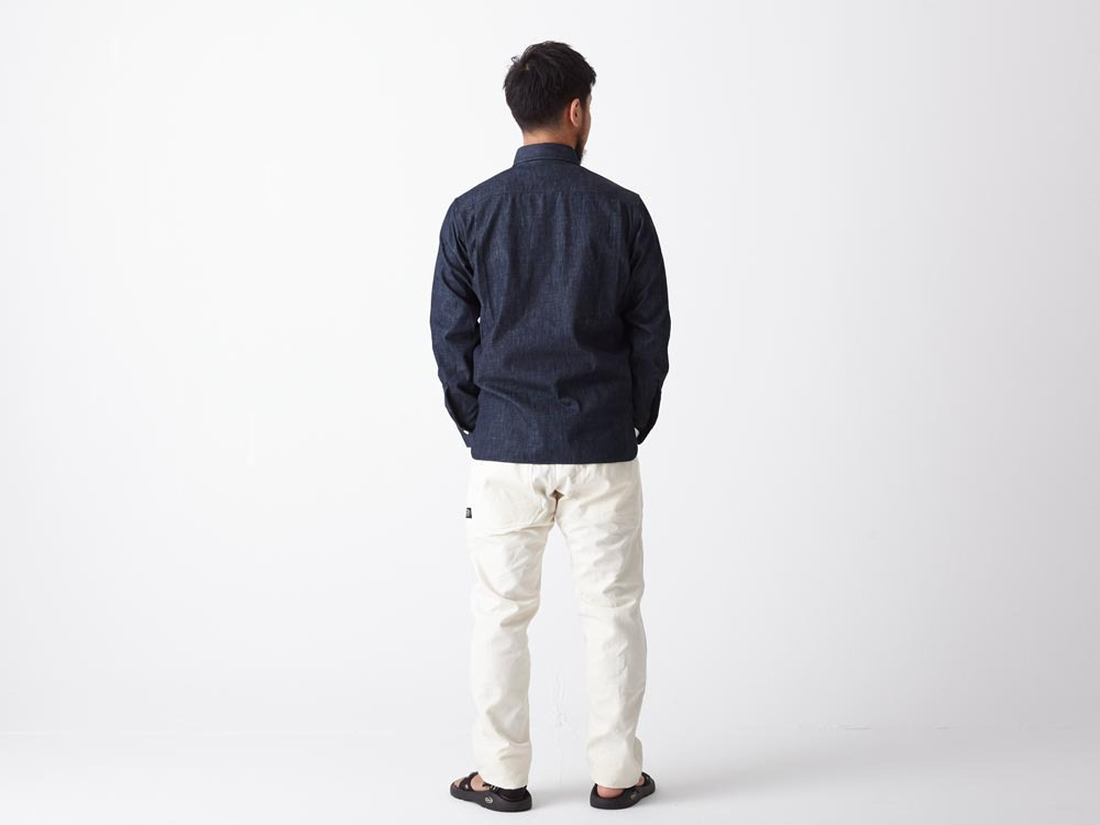 Dungaree Field Shirt  M Indigo3
