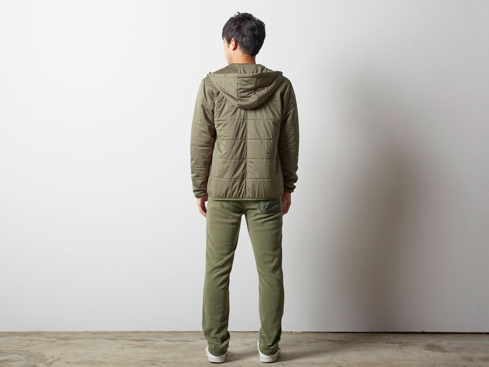 Flexible Insulated Hoodie S Olive3