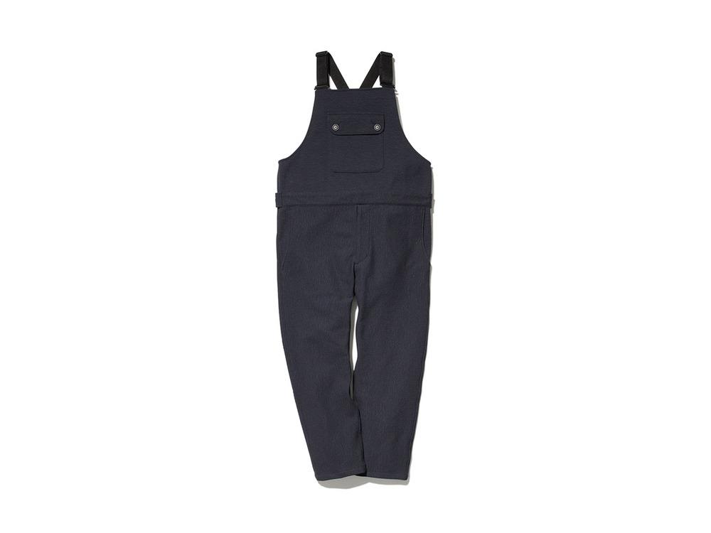 TAKIBI Knit Overalls M Black