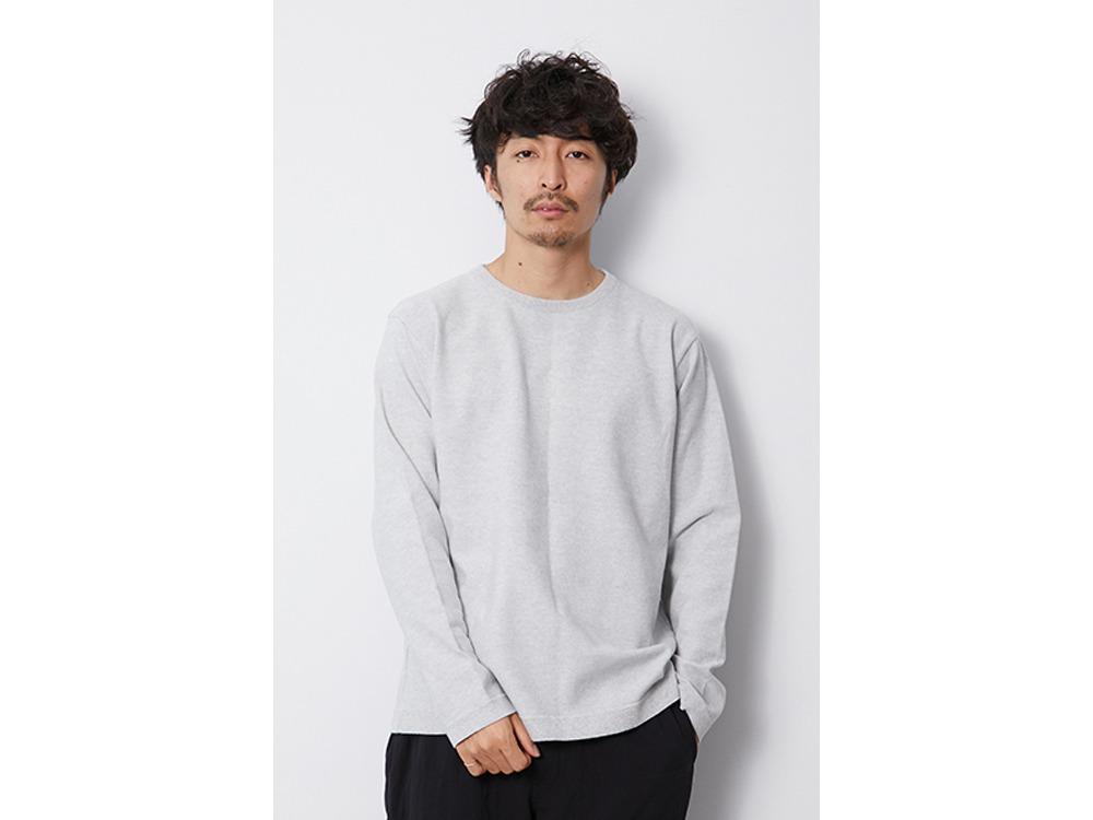 Co/Pe Dry L/S Pullover M Khaki