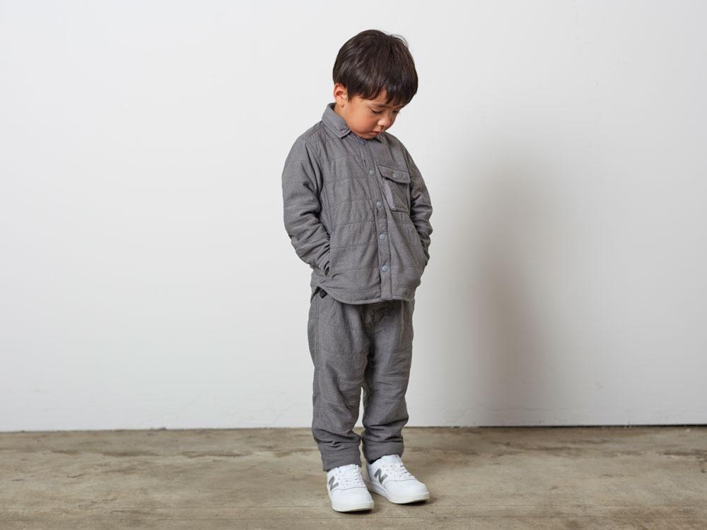 KidsFlexibleInsulatedShirt 4 M.Grey1