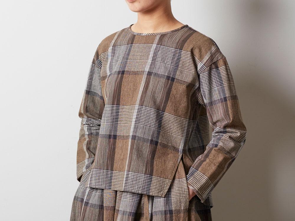 KASURI Pullover 4 Brown4