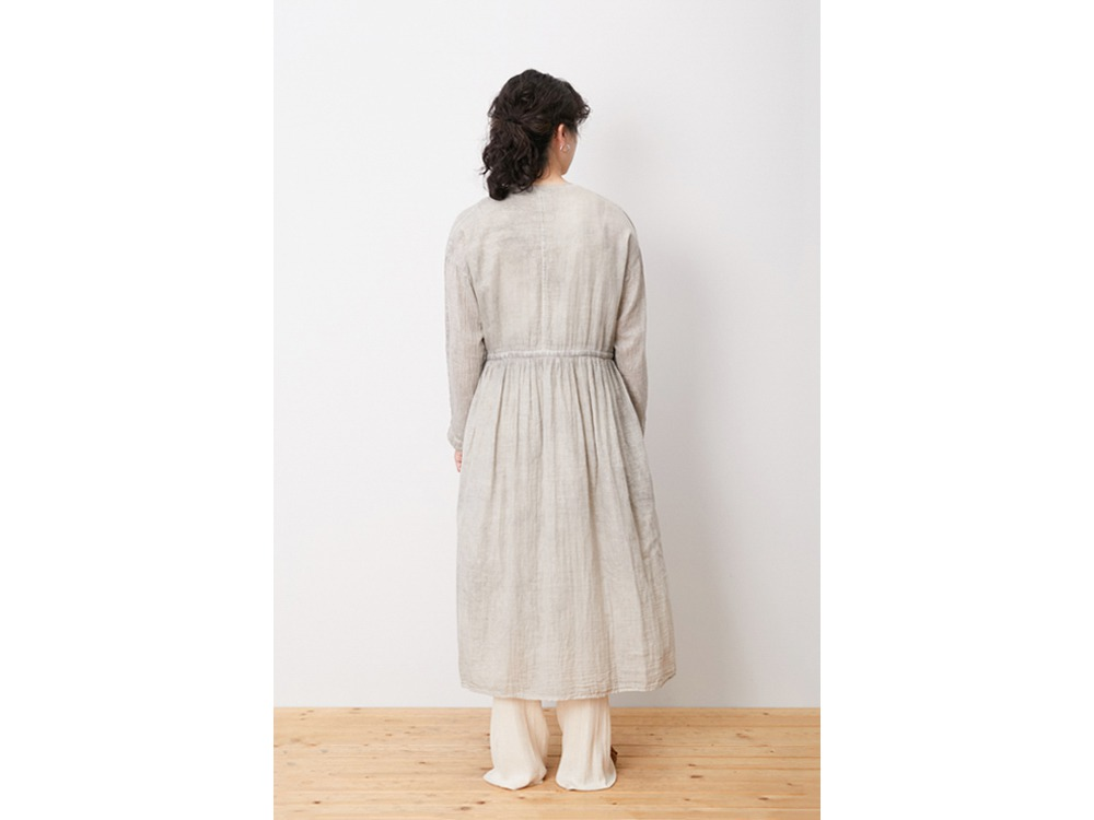 OG Double Gauze Dress 1 Ecru