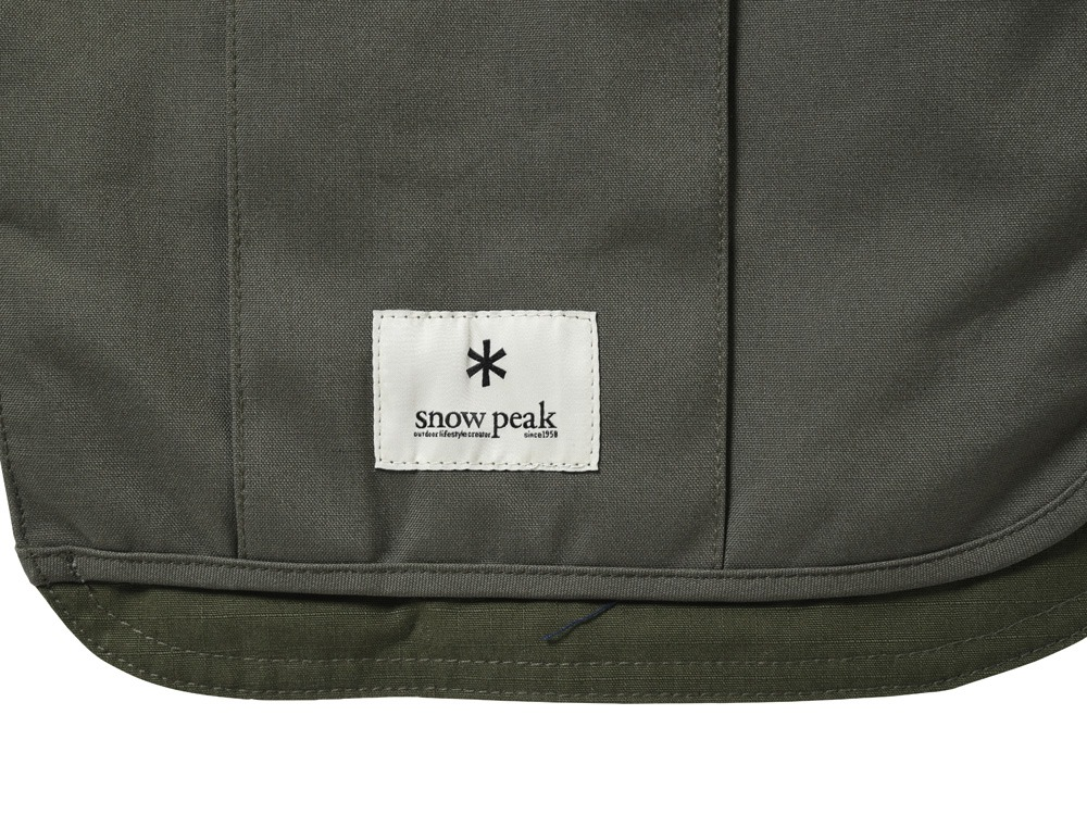 Camping Utility Apron Olive2