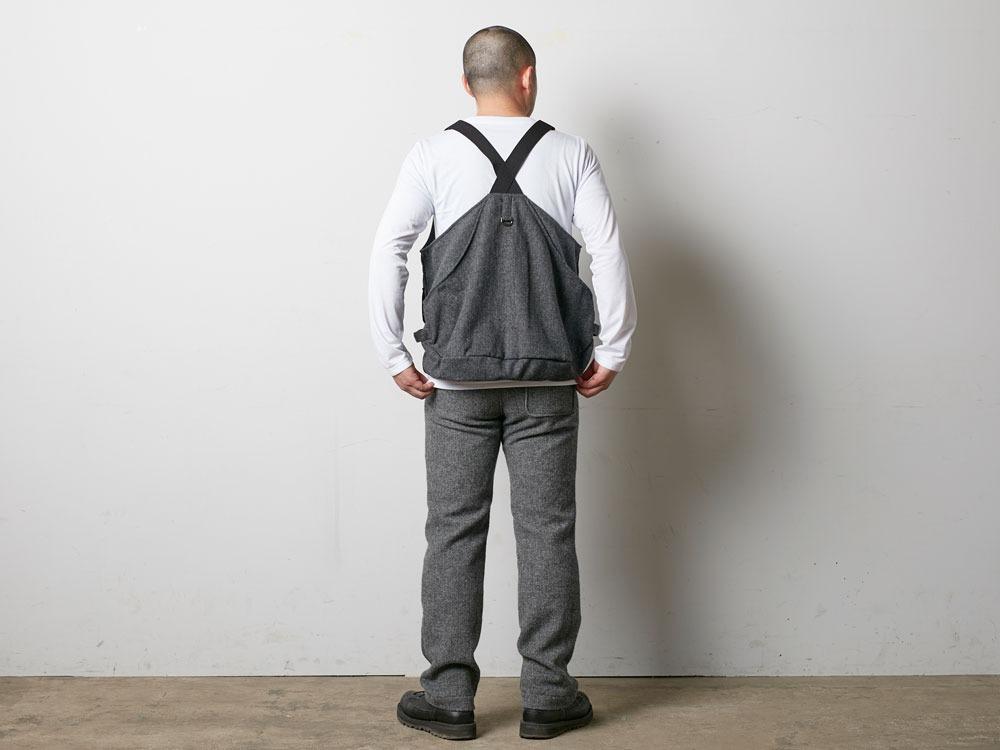 Wool TAKIBI Vest M Grey4