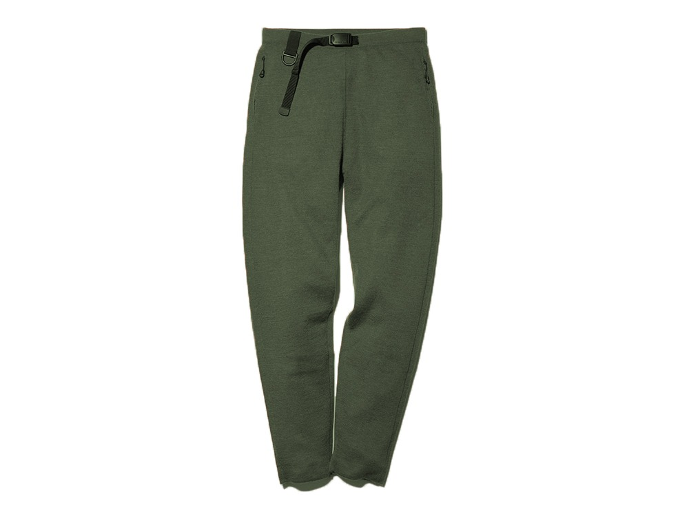 Knitted Trousers M Khaki