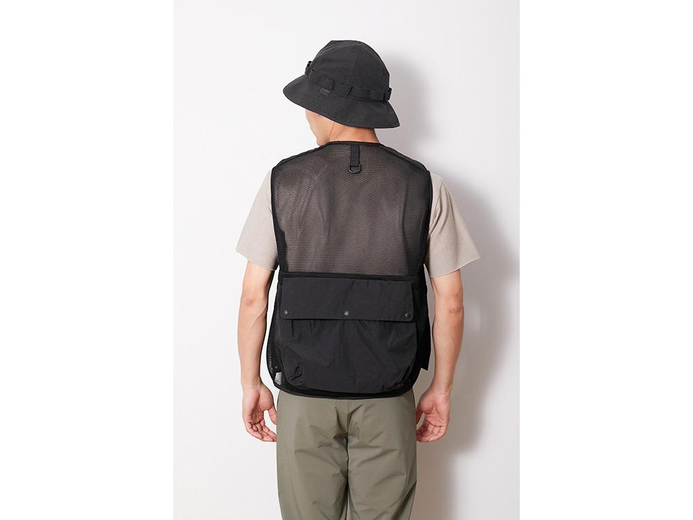 Mesh Vest L Black