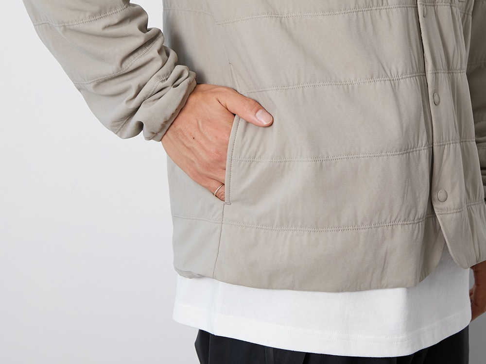 Flexible Insulated Cardigan XXL Beige
