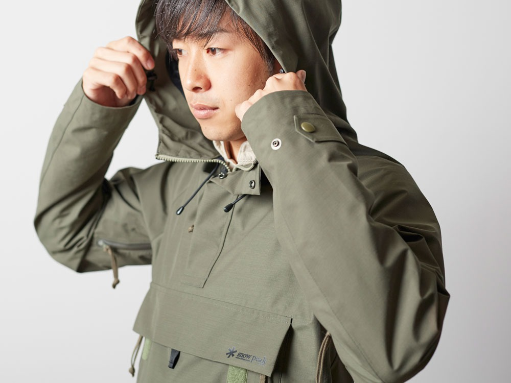 FR Rain Pullover M Olive7