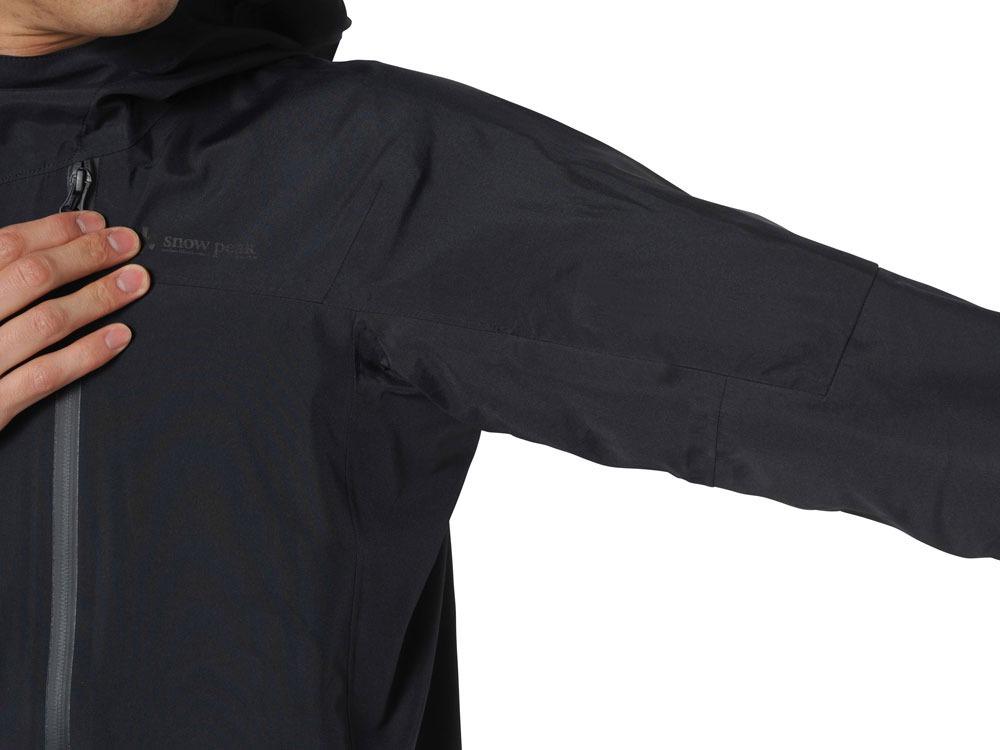 3L Rain Jacket M Black3