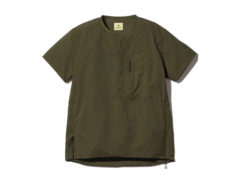 2レイヤー オクタ プルオーバーTシャツ 1 オリーブ