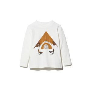 Kids Relaxed Camping Printed Tee 1 WH