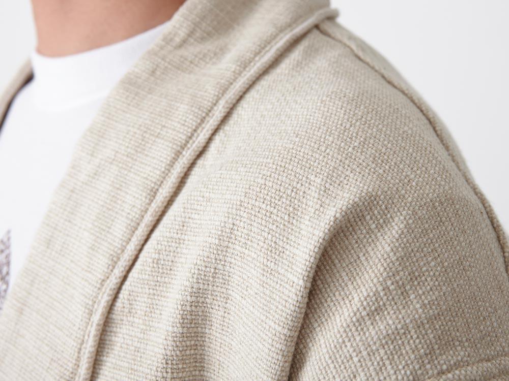 Linen HAORI Jacket M Black7