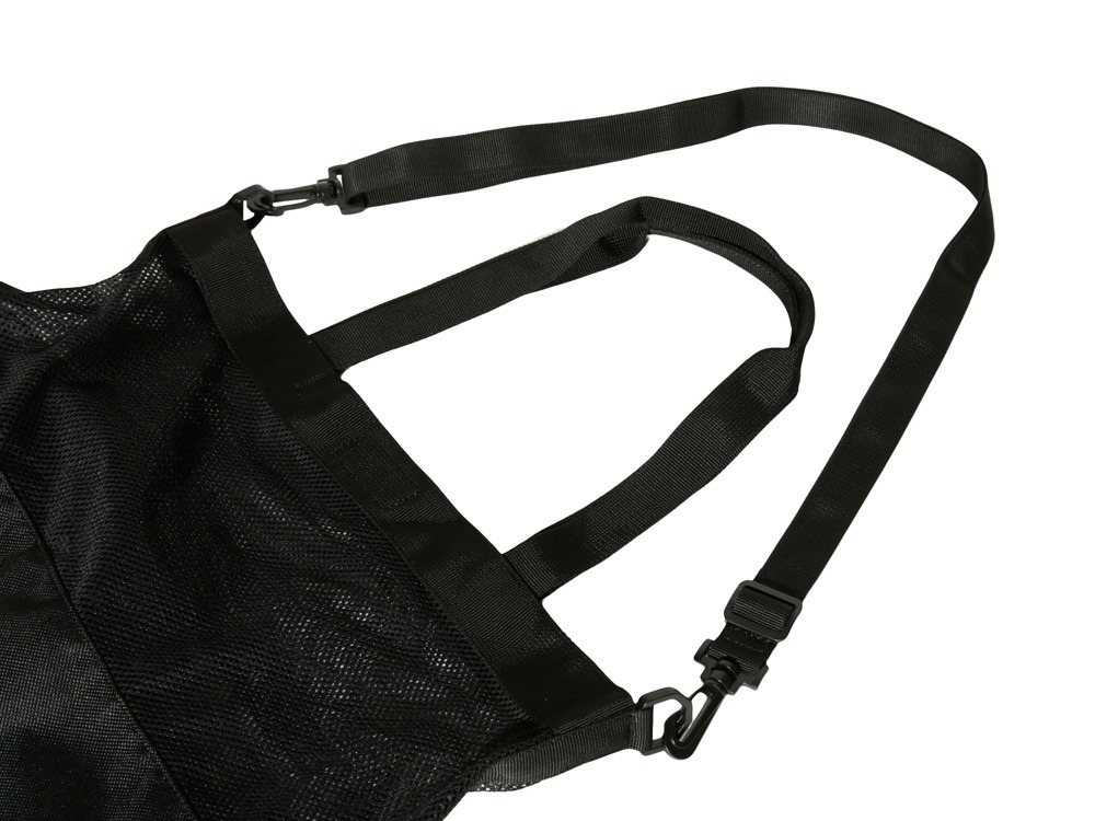 Active Mesh 2way Shoulder Bag Black1