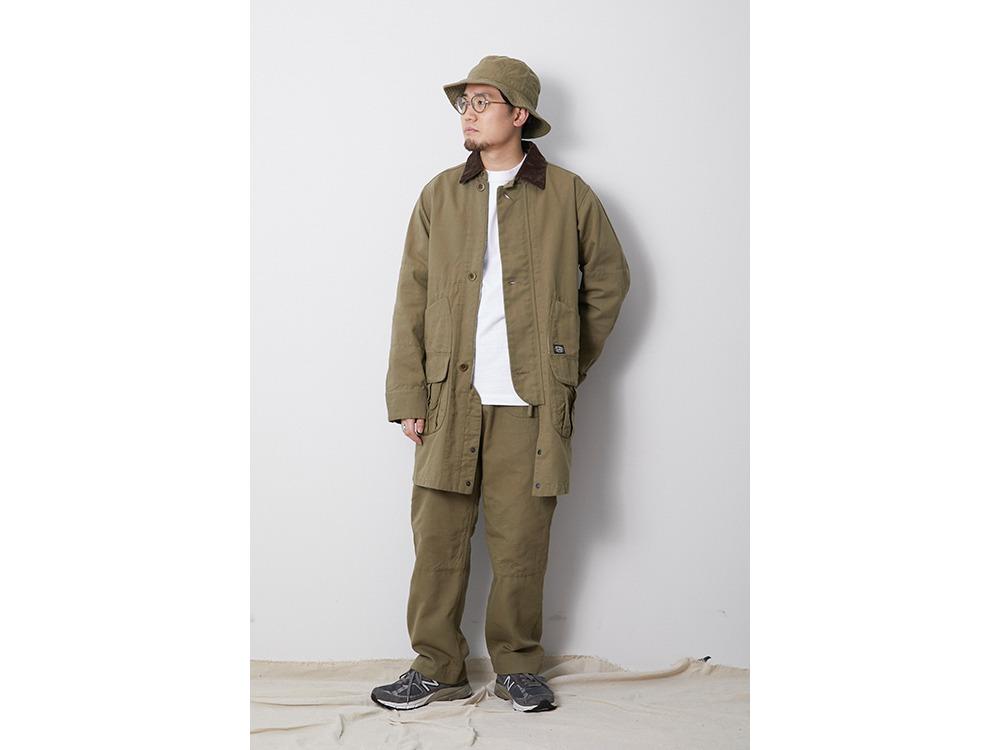 TAKIBI Duck Coat L Olive