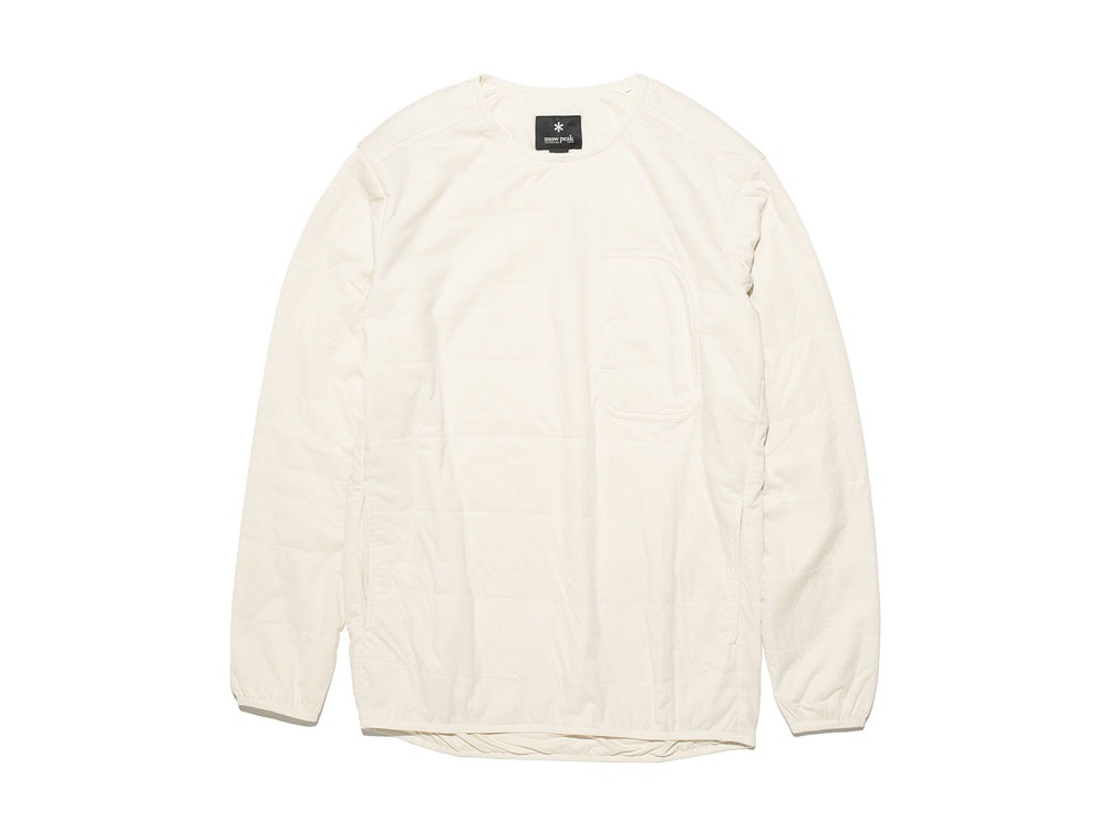 FlexibleInsulated Pullover L White0