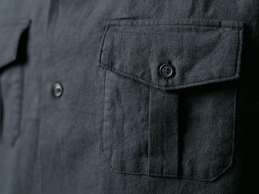 Safari Linen Shirt 2 Olive7