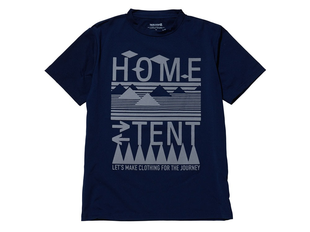 Solid HomeTent Tshirt 2 Navy0
