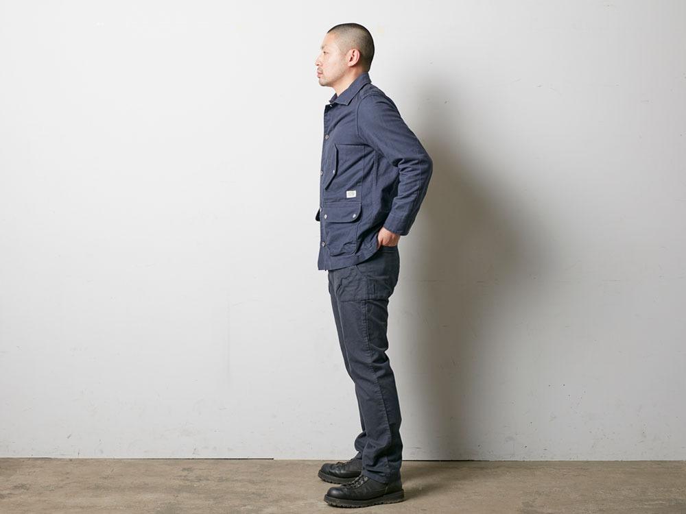 TAKIBI Coverall Jacket S Olive3