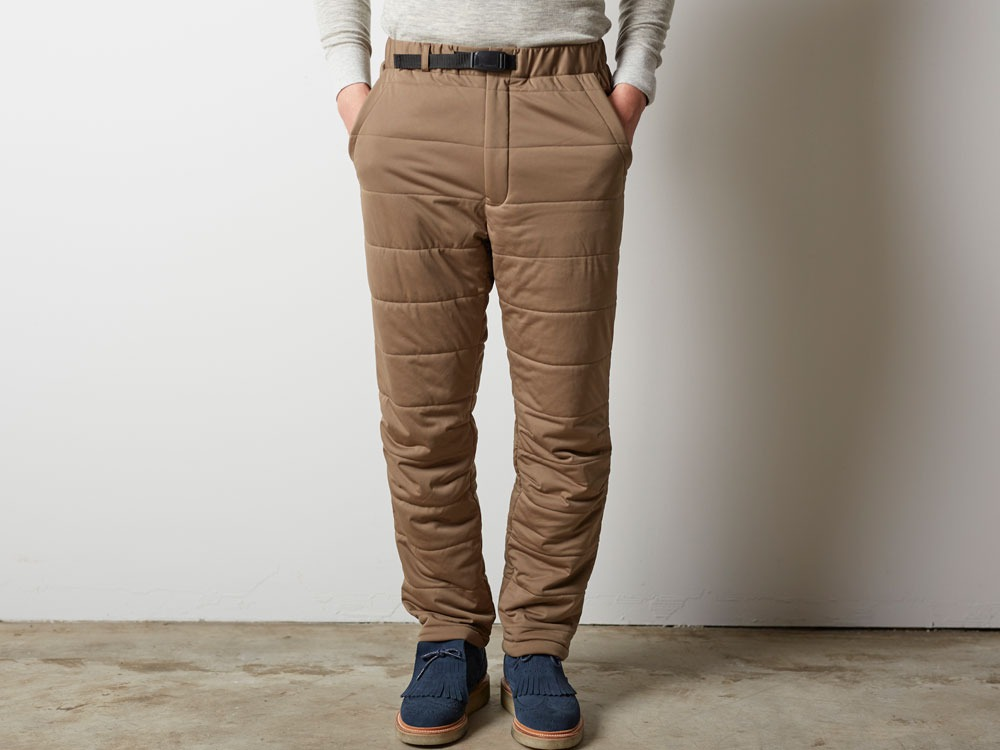 Flexible Insulated Pants 1 Brown2