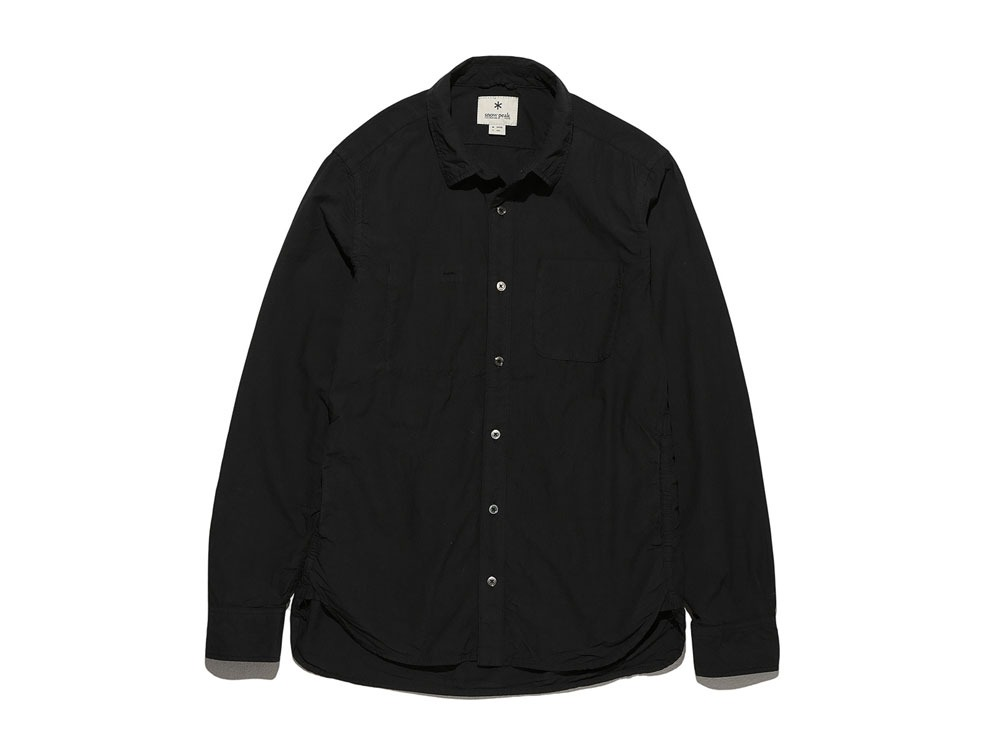 Organic Typewriter Shirt 2 Black0