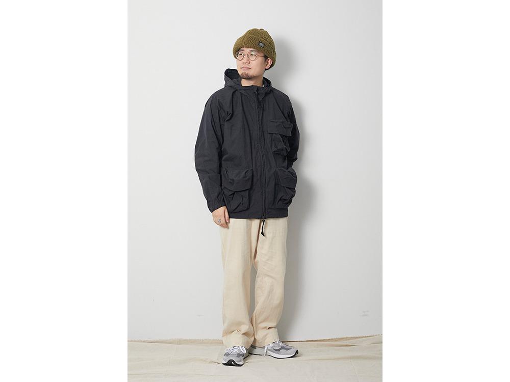 Indigo C/N Parka XL Black