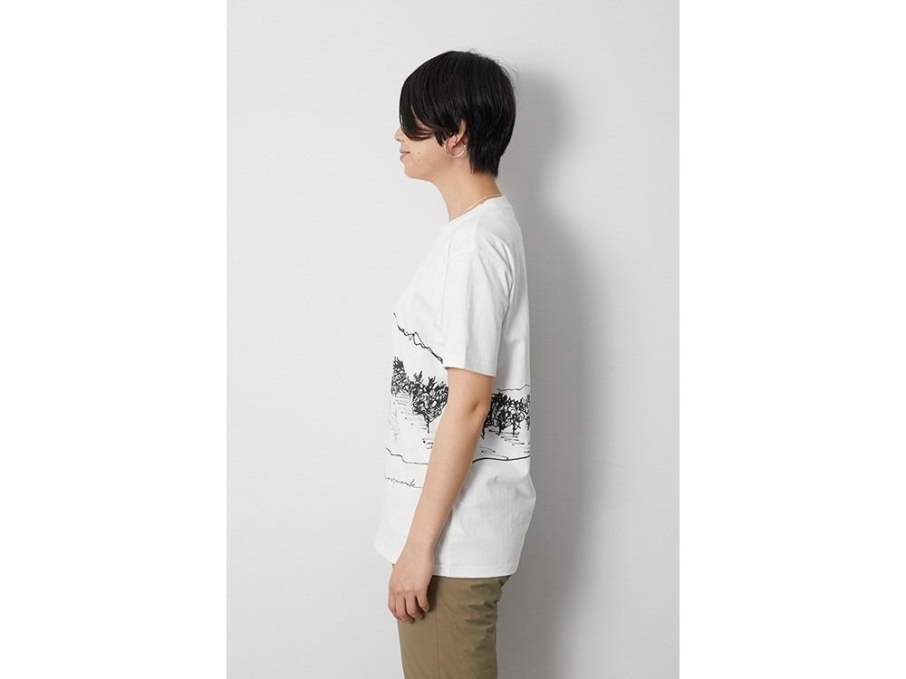 CF Graphic Tee L White