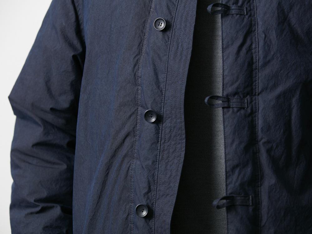 インディゴダウンチャイナジャケット S ブラック