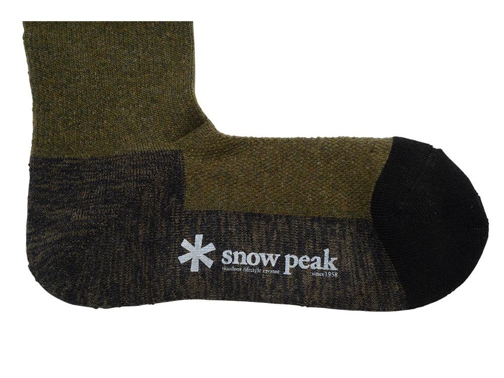 Wool Socks M Olive1