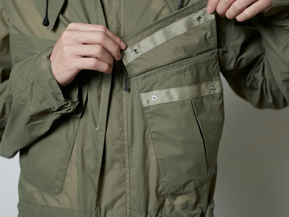 Rain&WindResistantJacket L Olive10