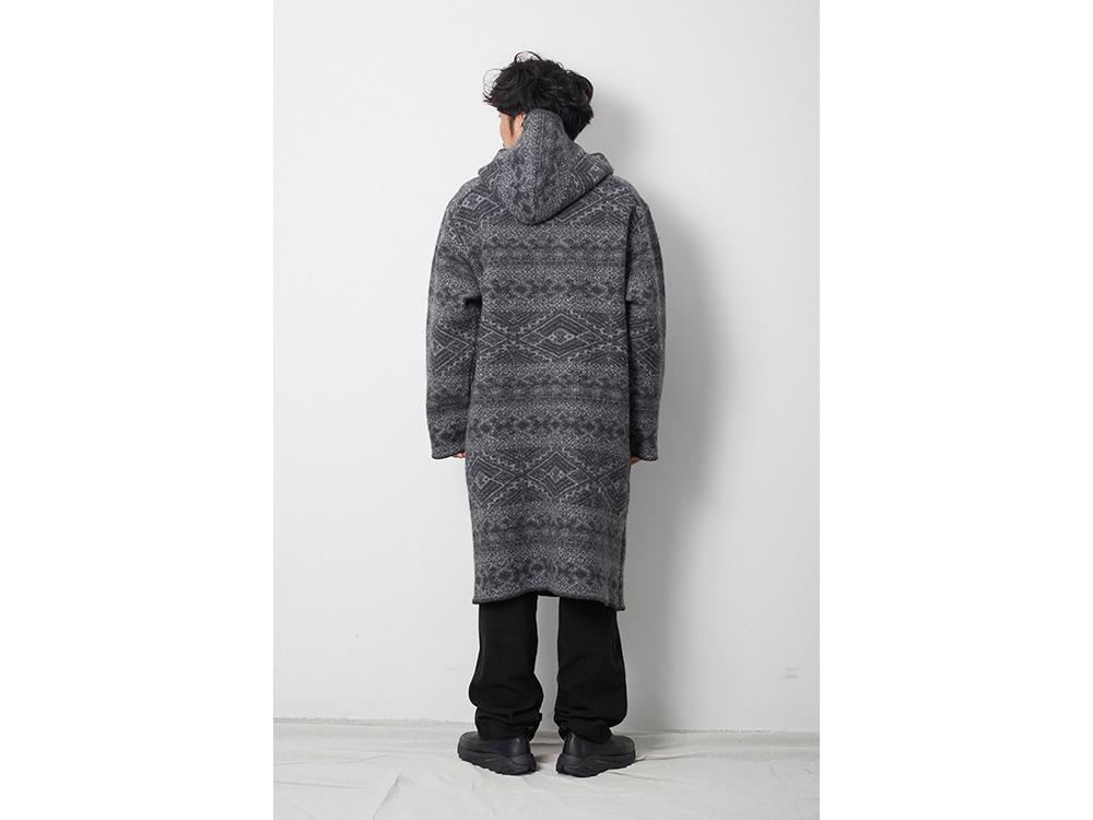 Wool Blanket Coat 1 Grey