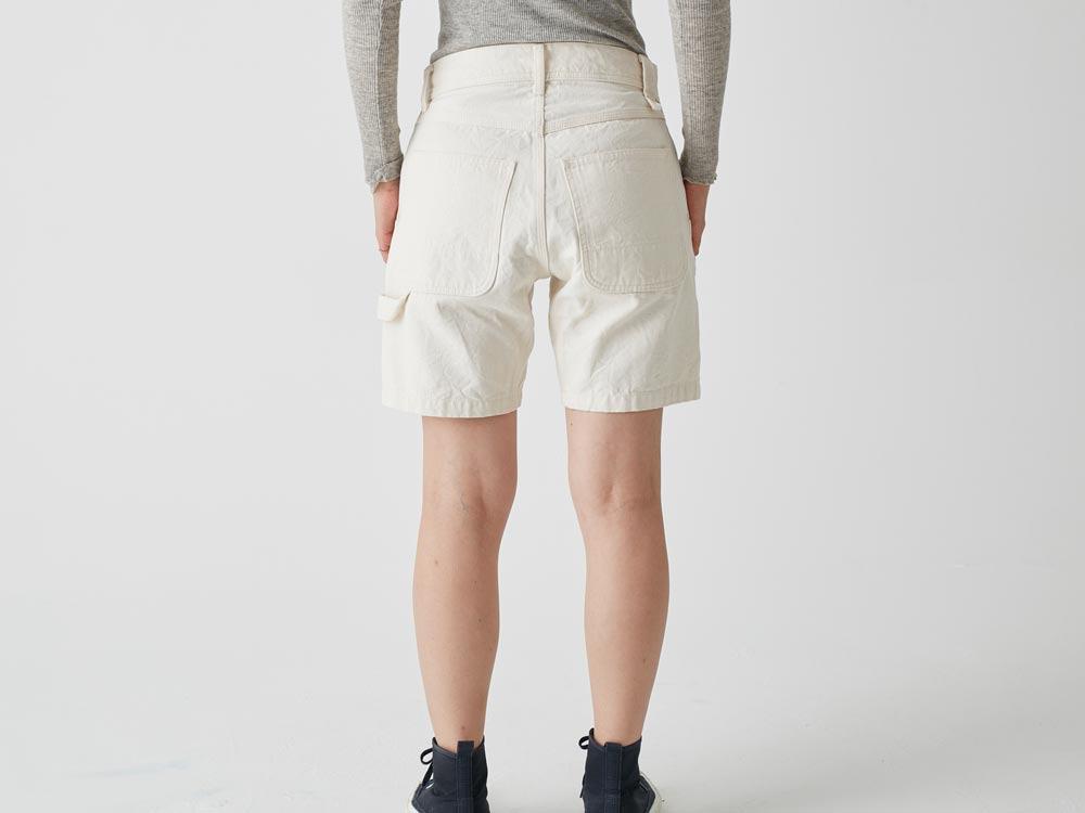 Okayama OX Shorts 2 Ecru5
