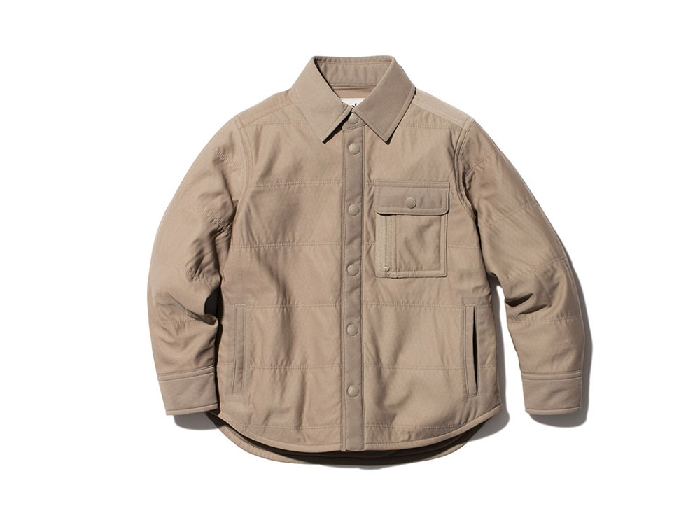 Kids Flexible Insulated Shirt 2 Beige
