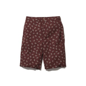 OG Cotton Poplin Paisley Shorts M BD