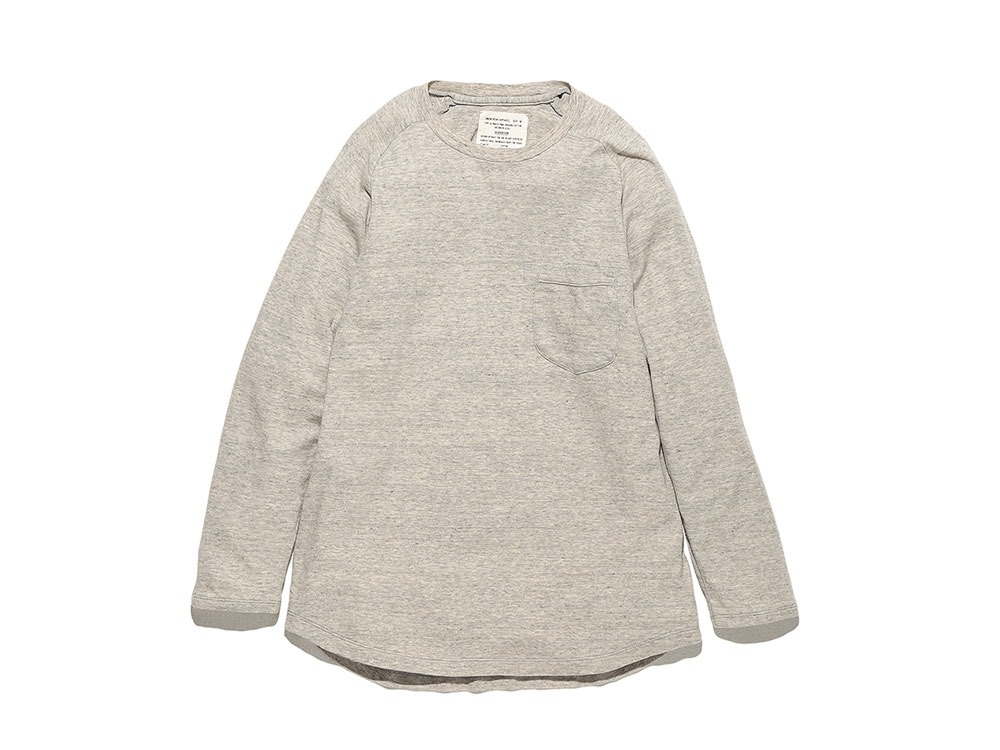 Bare Organic Smooth Raglan L M.Grey0