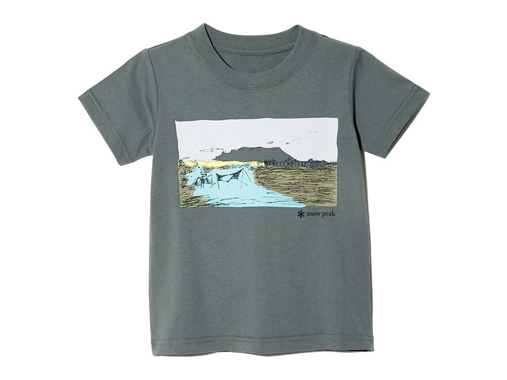 Kids Printed Tshirt Campfield 2 GK
