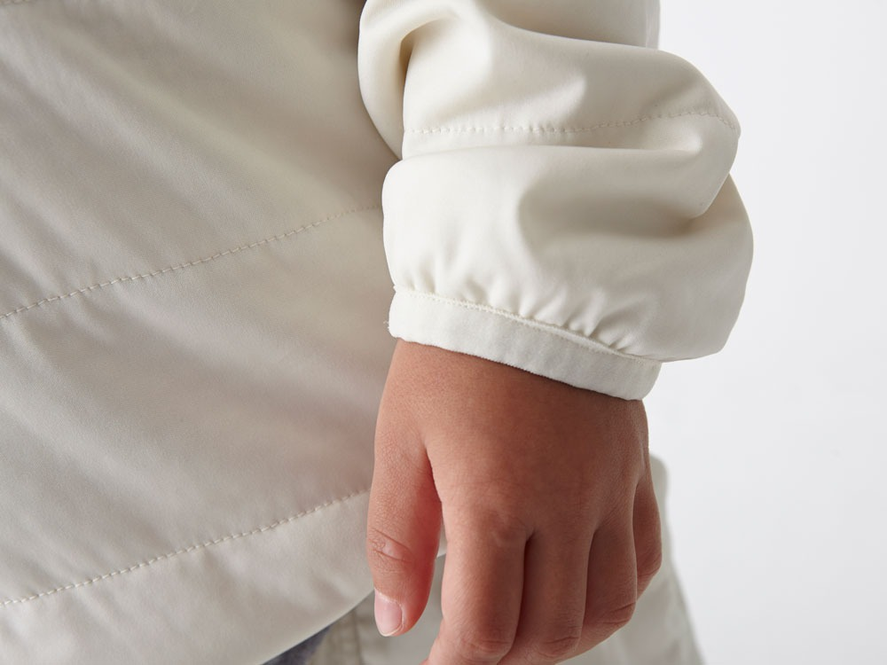 Kids Flexible Insulated Pullover 4 White5