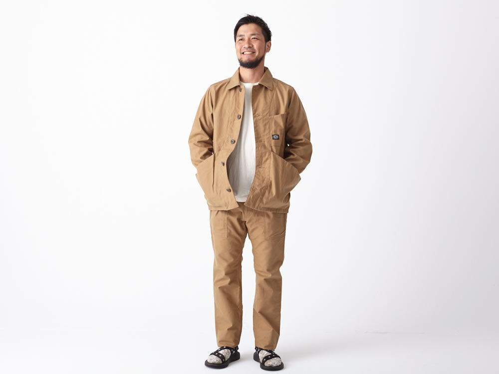 Takibi Coverall #1 S Brown1