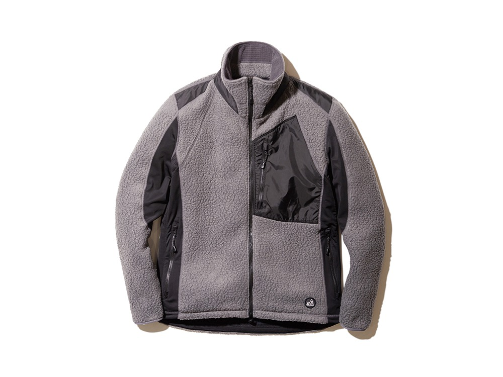 MM Thermal Boa Fleece Jacket M Grey