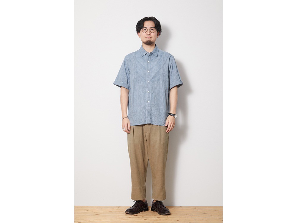 SHIJIRA Shirt M Brown