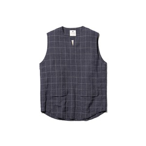 C/L Check Tweed Vest