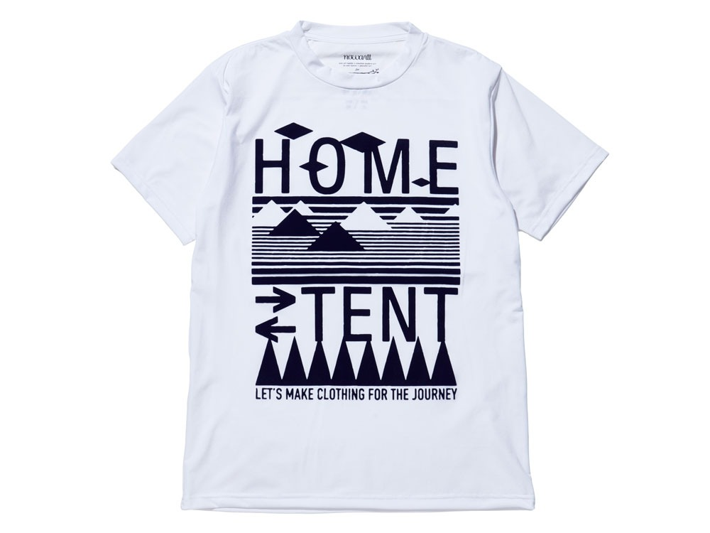 Solid HomeTent Tshirt 2 White0