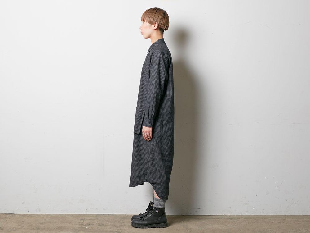 W's Organic Rip Stop Dress 3 Black2