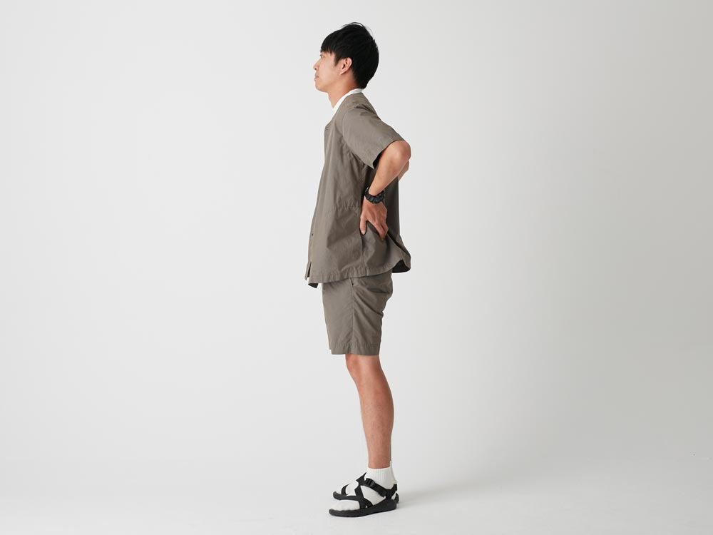 C/N Typewriter Shorts 1 Olive2