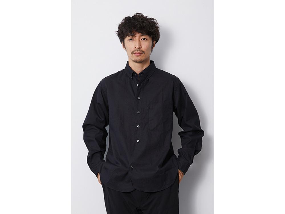 OG Cotton Poplin BD Shirt M Beige